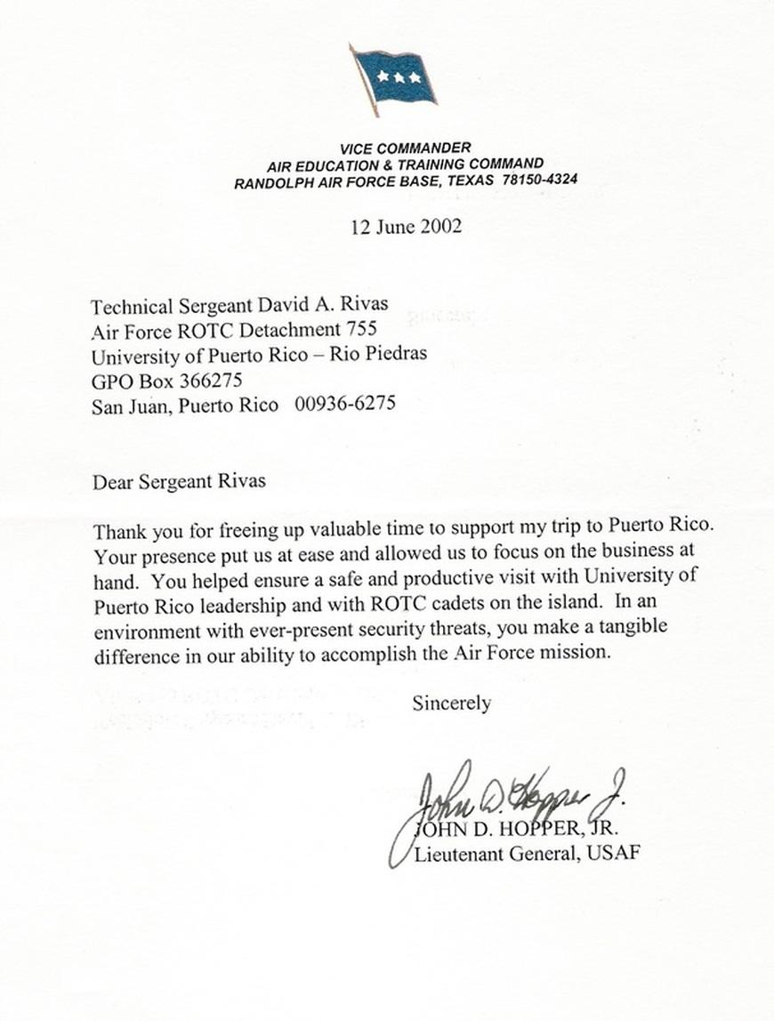 Navy Letter Of Appreciation Heartpulsar